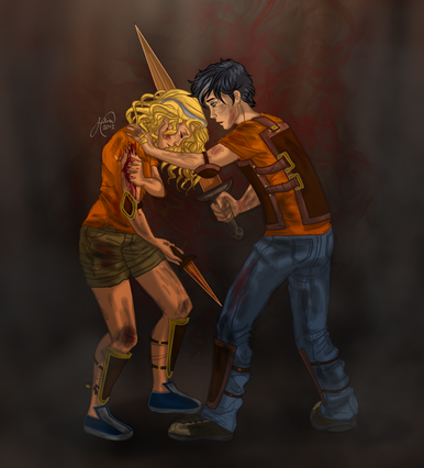 and annabeth fall into Percy And Annabeth Fall Into Tartarus